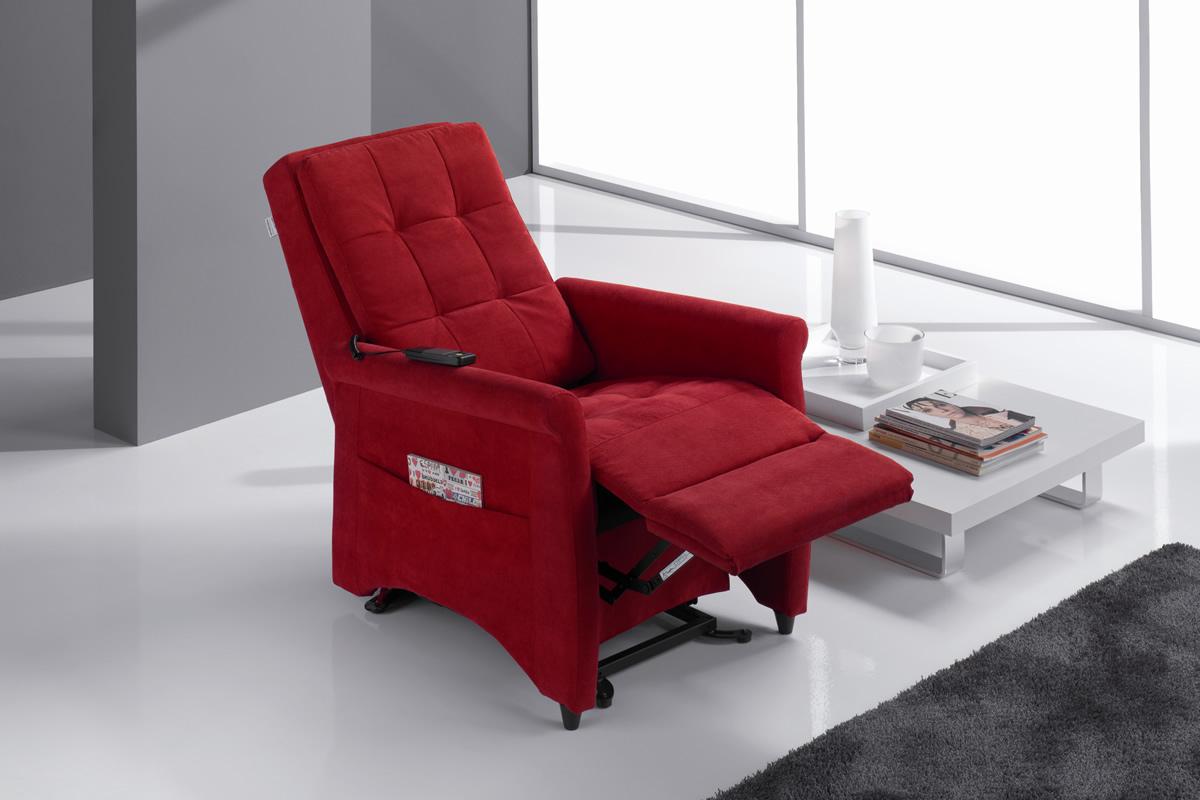 Violetta poltrona relax motorizzata personalizzabile materassi