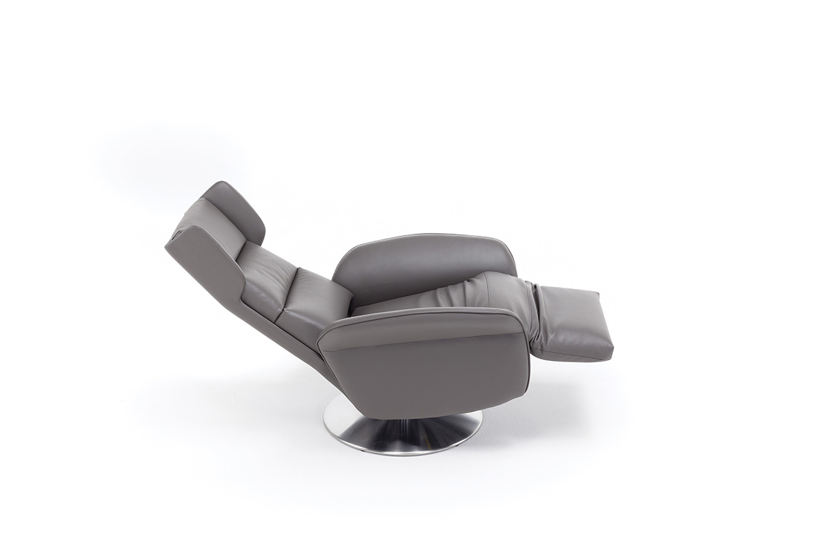 Poltrone Relax Made In Italy.Amsterdam Swivel Relax Armchair Motorized Materassi Fibe
