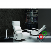 Poltrone Relax Made In Italy.Tokyo Swivel Relax Armchair Motorized Materassi Fibe